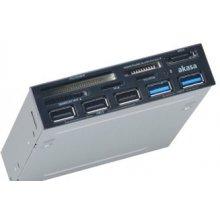 Кард-ридер AKASA AK-ICR-16, CF, MicroDrive...