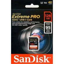 Mälukaart SanDisk Extreme PRO SDXC 128 GB...