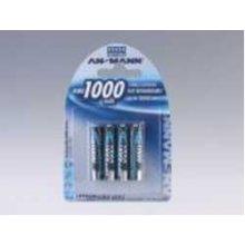 Ansmann 1x4 NiMH rech. батарея 1000 Micro...