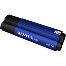 Флешка ADATA S102P 64 GB, USB 3.0, Blue