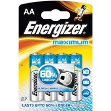 ENERGIZER aku MAXIMUM AA LR6 /4pcs