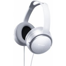 Sony MDR-XD150 On-Ear, 3.5 mm, valge