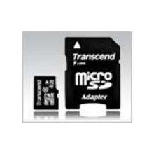 Transcend microSDHC 4GB Class 6 + SD-adapter