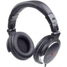 Gembird наушники DJ MONTREAL/MHP-YUL-BK