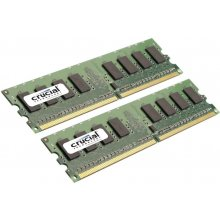 Mälu Crucial 4GB DDR2 800MHz PC2-6400 2GBx2...