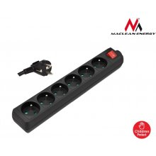 UPS Maclean MCE61 Power Strip 6-outlet koos...