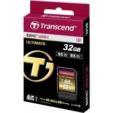 Флешка Transcend память card SDHC 32GB...