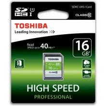 Mälukaart TOSHIBA SDHC Class 10 High Speed...