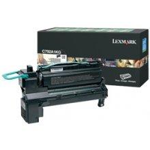 Тонер Lexmark C792A1KG, 6000 pages, Laser...
