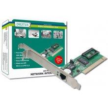 Сетевая карта DIGITUS PCI Card 1x RJ45 Fast...