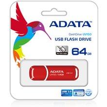 Флешка ADATA A-Data UV150 64 GB, USB 3.0...