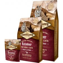 Carnilove Reindeer for Adult Cats - Energy &...
