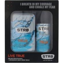 STR8 Live True, Edt 50 ml + Deodorant 150...