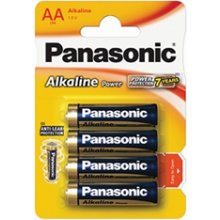 PANASONIC LR6 4-BL Panasonic Alkaline Power...