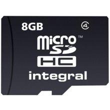 Mälukaart INTEGRAL MICROSDHC 8GB