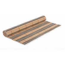 QUISELLE DARK bamboo mat 30x40