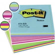 3M Märkmepaber Post-It Rainbow 76x76mm kevad...