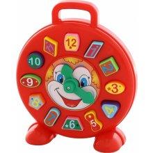 WADER-POLESIE Shape sorter Clock Clown, bag