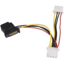 StarTech.com Power Adapter F/M, 1 x SATA, 2...