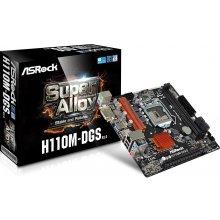 Emaplaat ASRock H110M-DGS, H110 R3.0...