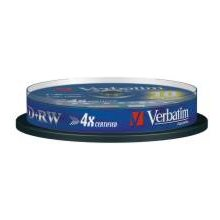 Диски Verbatim 1x10 DVD+RW 4,7GB 4x Speed...