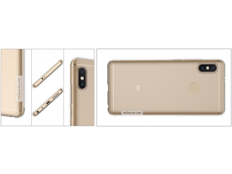 quite nice d7386 9606f Nillkin Case Nature Redmi Note 5/PRO Crystal