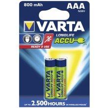 VARTA Akku ReadyToUse AAA HR03 800mAh 2St