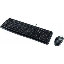 Klaviatuur LOGITECH Tas Desktop MK120