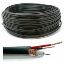 GENWAY CABLE CCTV RG59+2X0.5MM 50M/BLACK...