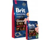 Brit Premium by Nature ADULT L - 15kg | с...