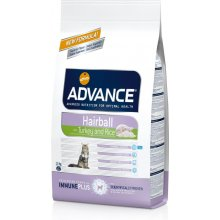 ADVANCE cat Hairball Turkey и Rice 1,5kg