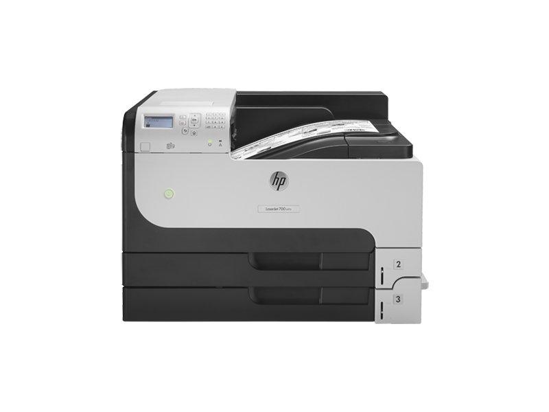 HP Enterprise 700 M712dn LaserJet, 1200 x 1200, PCL 5e, PCL 6, PDF 1 4,  PostScript 3, Laser, 10 5, A3, A4, A3 (297 x 420 mm)