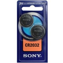 Sony 2x CR2032 3V, литий, Button/coin...