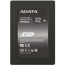 Kõvaketas ADATA SSD 32GB A-Data Pro SP600...