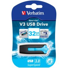 Mälukaart Verbatim V3 USB 3.0 Drive 32GB...