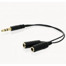 4World Audio адаптер 1 x Jack 3.5 mm для 2 x...