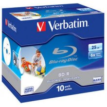 Диски Verbatim Bluray 25GB 10pcs printable...