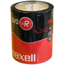 Диски Maxell диск DVD-R 4,7 16x spindle 100