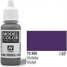 Vallejo Farba Nr 47 Violet Matt 17 ml
