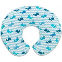CHICCO Boppy pillow for feeding Blue Whales