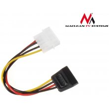 Maclean Cabel power адаптер Molex Sata...