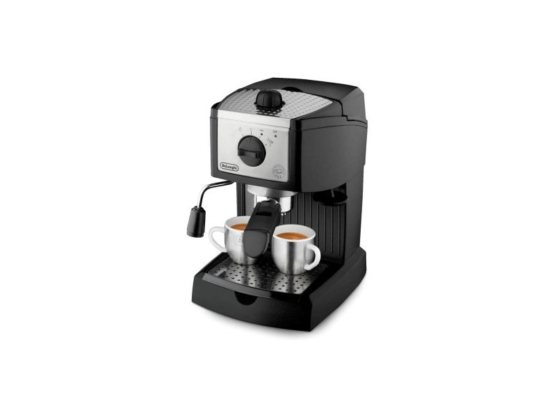 Kohvimasin DELONGHI Coffee maker EC156 Pump pressure 15 bar, Semi-automatic, 1050 W, Black - OX.ee