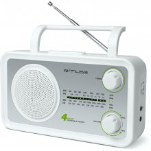 Muse M-05SW valge, 4-band portable radio...
