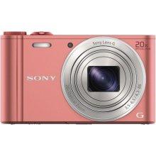 Фотоаппарат Sony DSC-WX350, розовый