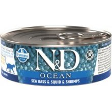 Farmina N&D OCEAN Cat Adult - sea bass...