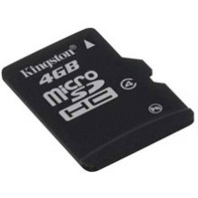 Флешка KINGSTON MicroSDHC 4GB