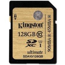 Mälukaart KINGSTON 128GB SDXC C10 UHS...