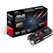 Videokaart Asus Radeon R9 390X DirectCU II...