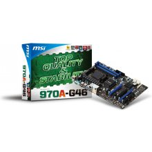 Emaplaat MSI 970A-G46, DDR3-SDRAM, DIMM...