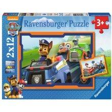 RAVENSBURGER 2x12 ELEMENTÓW Psi Patrol, w...